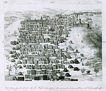 First European image of the African city Timbuktu by René_Auguste Caillié 1799_1838. Caillié was the first European to return from Timbuktu, described...