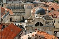 St Blaise church at Dubrovnik, UNESCO, Croatia