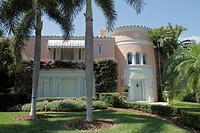 Florida, Miami Beach, Flamingo Drive, home, house, residence, Modern Mediterranean style architecture, design,