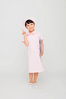 Japanese Girl Dressed As Nurse