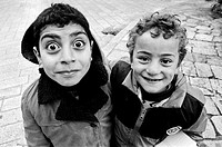 Two Arab Boys, Old City of Jerusalem, Israel