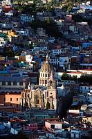 Cathedral, Guanajuato, UNESCO World Heritage Site, Guanajuato state, Mexico, North America
