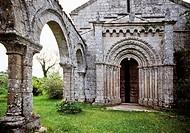 Romanesque Church of El Salvador XII Century  Probable origins as a convent for women which gives its name Donas Women  In 11854 the Arias de Monerros...