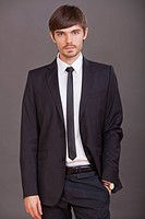 portrait of fashion man