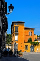 Lucca  San giovanni square  Piazza san giovanni  Tuscany  Italy  Europe.