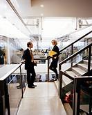 People in an office, Sweden.