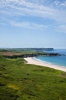 Coastal Landscape Of White Park Bay, Portbraddon, County Antrim, Northern Ireland