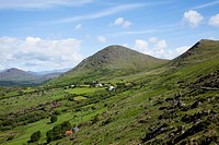 Verdant Valley At Healy Pass, Lauragh, County Kerry, Ireland