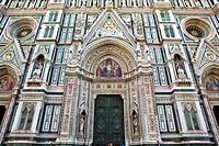 Cathedral, Santa, Maria, del, Fiore, Florence, Tuscany, Italy,