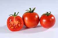 Tomatoes, ´Deutscher, Fleiss´, Solanum, lycopersicum,