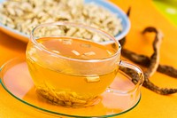 Tee,Althaea officinalis, Eibischwurzel