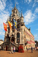 The Netherlands, South Holland, Gouda, town hall