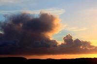 Holkham sunset, Norfolk, UK
