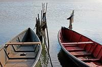 boats in Lesina, Apulia