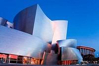 Walt Disney Concert Hall, Los Angeles, California, USA, North America