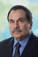 Serious Hispanic businessman