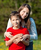 beautiful, boy, brother, Caucasian, child, childhood, children, countryside, cute, day, embracing, family, female, friends, friendship, girl, happy, h...