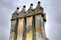 Chimneys of Casa Batla