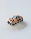 Clockwork Car On Sand