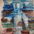 Impressionist artwork of Jesus Christ