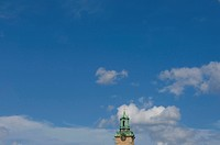Top of church and sky, Stockholm, Sweden