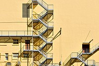 fire escape staircase