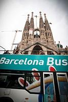 Tourist bus, Barcelona, Spain.