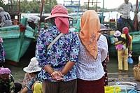 Cambodia, Kampot, capital of Kampot Province in southern Cambodia.