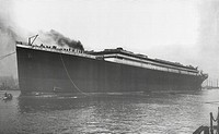 RMS Titanic Launched. RMS Titanic Launched, 31/05/1911. The White Star Liner afloat for first time, but without engines, boilers, machinery and fittin...