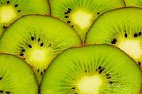 bright juicy kiwi background