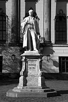 Statue of the scientist Hermann Ludwig Ferdinand von Helmholtz
