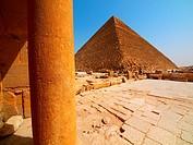 Keops pyramid. Giza. Cairo. Egypt