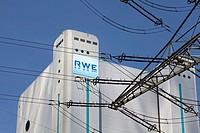 Niederaussem power plant, a lignite-powered base load power station operated by RWE PowerAG, Bergheim-Niederaussem, Rhein-Erft-Kreis district, North R...