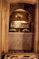 tomb of the apostle Santiago, Santiago De Compostela, Spain, Europe