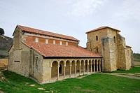 Monastery of San Miguel de la Escalada, Leon, Spain