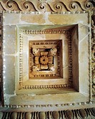 Greek civilization, 4th century b.C. Coffered ceiling from the Tholos of Epidaurus. Detail.  Epidauro, Museum (Archaeological Museum)