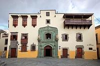 Canary Islands, Gran Canaria, Las Palmas de Gran Canaria, Vegueta Old Town, Casa Museo de Cristobal Colon