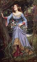 John William Waterhouse (1849-1917), Ophelia, 1910.  London, Barbican Art Gallery