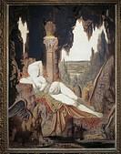 Gustave Moreau (1826-1898), Fee aux Griffons.  Paris, Musée D'Orsay (Art Gallery)