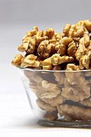 A bowl full of walnuts