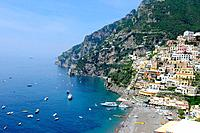 Positano Italy Mediterranean Sea Europe Amalfi Coast