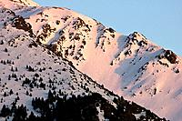Late afternoon in the mountains of the Valley of Boi - Pyrenees - Lleida Province - Catalonia - Cataluña - Spain