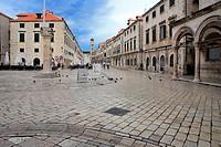 Stradun, main street, Dubrovnik, Croatia