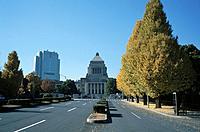 National Diet Building, Tokyo Prefecture, Honshu, Japan