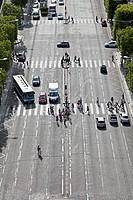 Place Charles de Gaulle, Avenue des Champs_Elysees, 8th Arrondissement, Paris, Ile_de_France, France, Europe