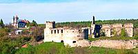 Ancient fortress ruins