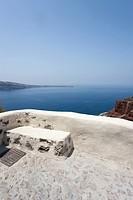 landscape of Oiai n Santorini, Cyclades Islands, Cyclades Prefecture, Greece, Europe
