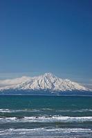 Rishiri Island, Rishiri Fuji, Sarobetsu coast, Wakkanai, Hokkaido, Japan