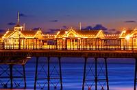 eastbourne pier, sussex, england, uk, europe
