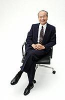 Portrait of Senior Man in Business Suit